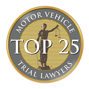 Top 25 Motor Vehicle Trial Lawyers